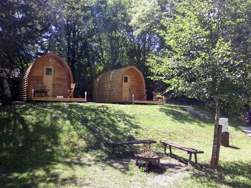Chalets / Trekkershutjes Camp Liza