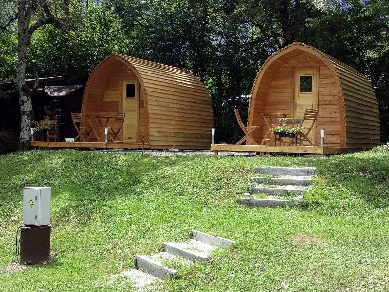 Trekkershutjes Camp LIza