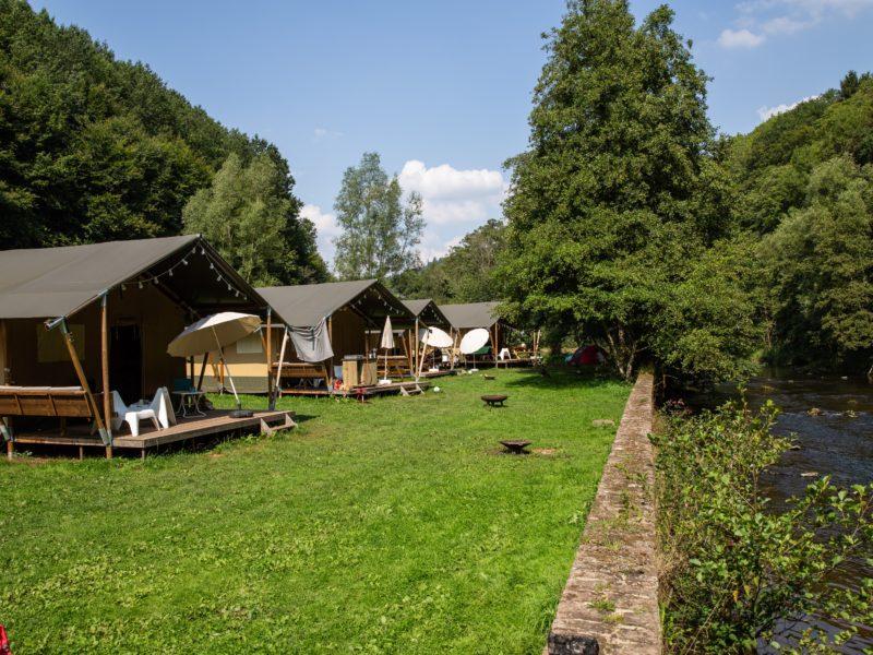Safaritenten op veld - Kyllburg