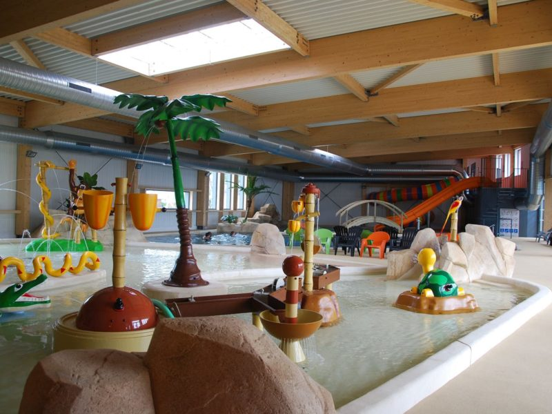 Le Fief - glamping - binnenzwembad