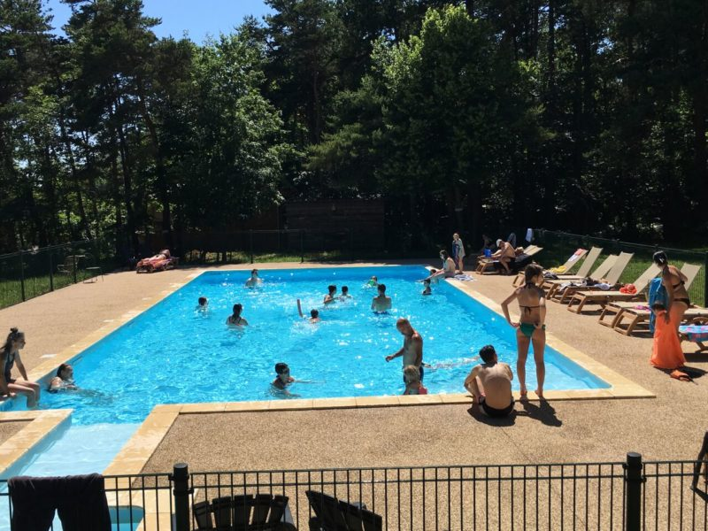 Zwembad Le Grand Bois