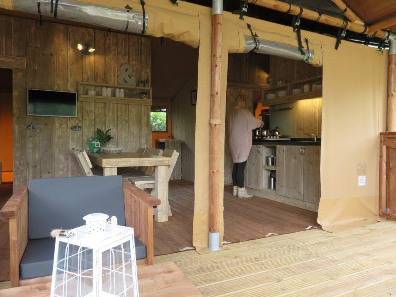 Vakantiepark Drouwnerzand - Danny's Lodge 2 - glamping