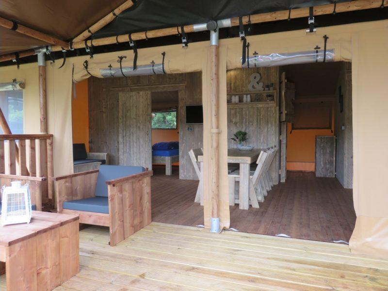 Vakantiepark Drouwnerzand - Danny's Lodge - glamping