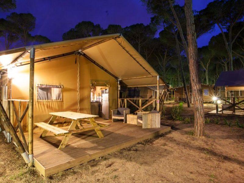 Vakantiepark Drouwnerzand - Woud Lodge- glamping