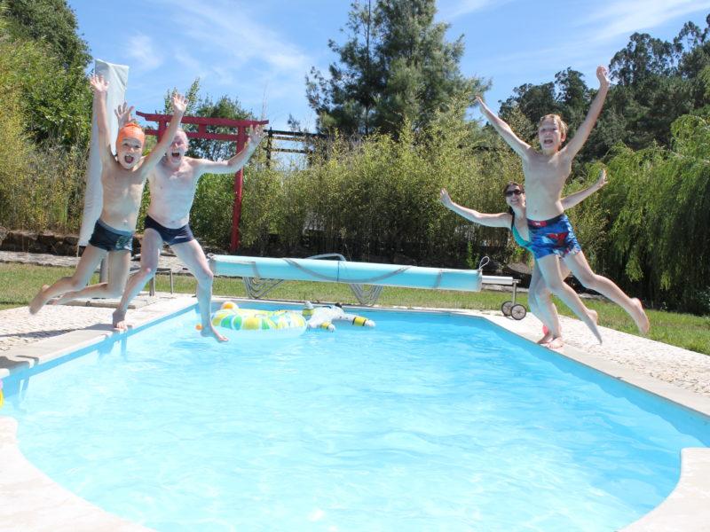 Quinta Japonesa, het zwembad