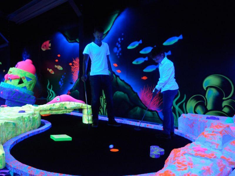 Glamping - Vakantiepark De Krim - glowgolf