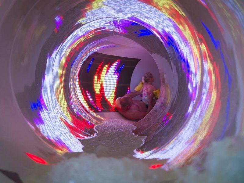 Glamping - Vakantiepark De Krim - glijbaan