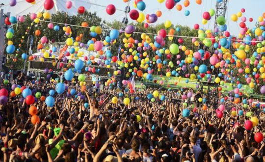 Glamping op Festivals