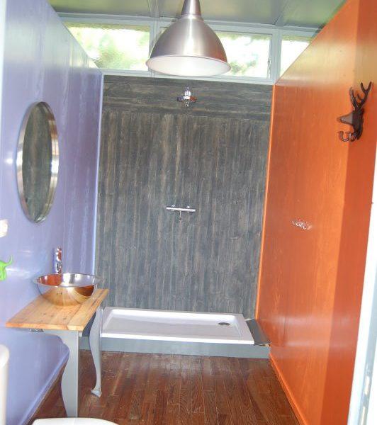 Glamping - La Vieille Ecole - sanitair