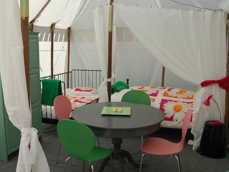Glamping - La Vieille Ecole - Tent