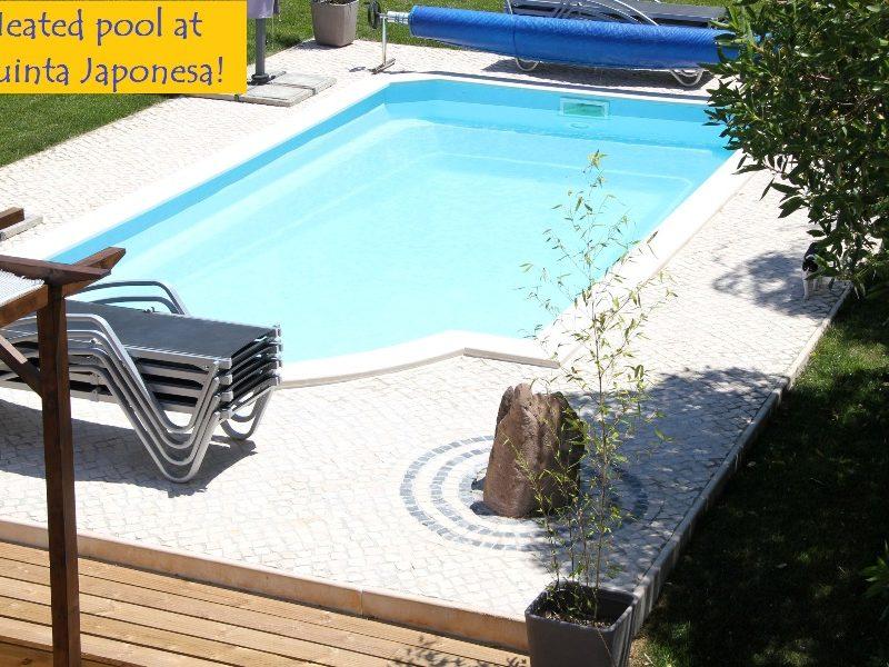Verwarmd zwembad - Quinta Japonesa