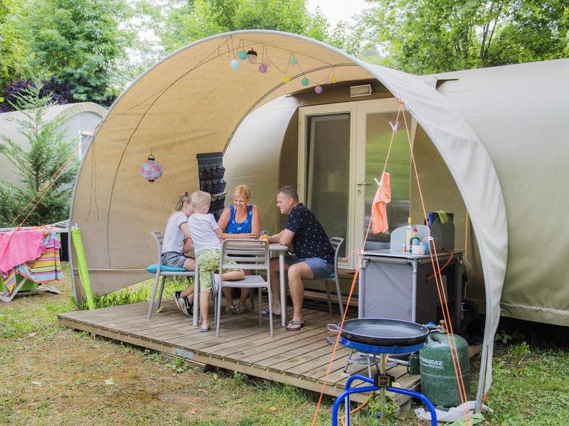 Coco suite - Le Moulin de la Pique, glamping.nl