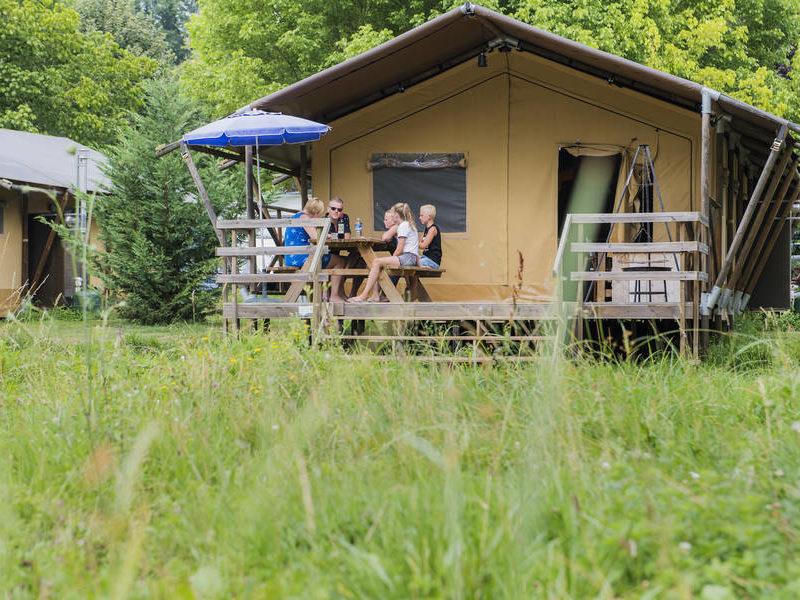 Safarilodge - Le Moulin de la Pique, glamping.nl