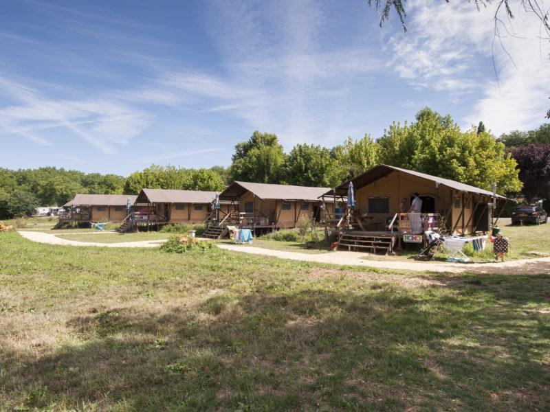 Glamping - le Moulin de la Pique - Safaritent