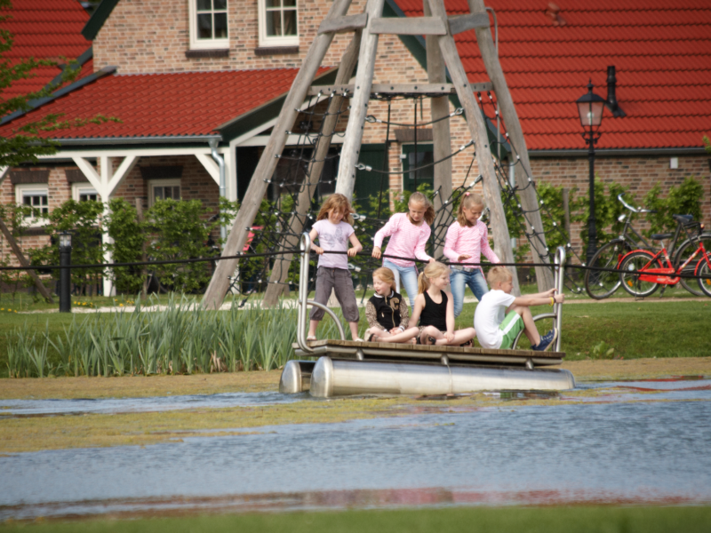 de Leistert - waterpark met bootje