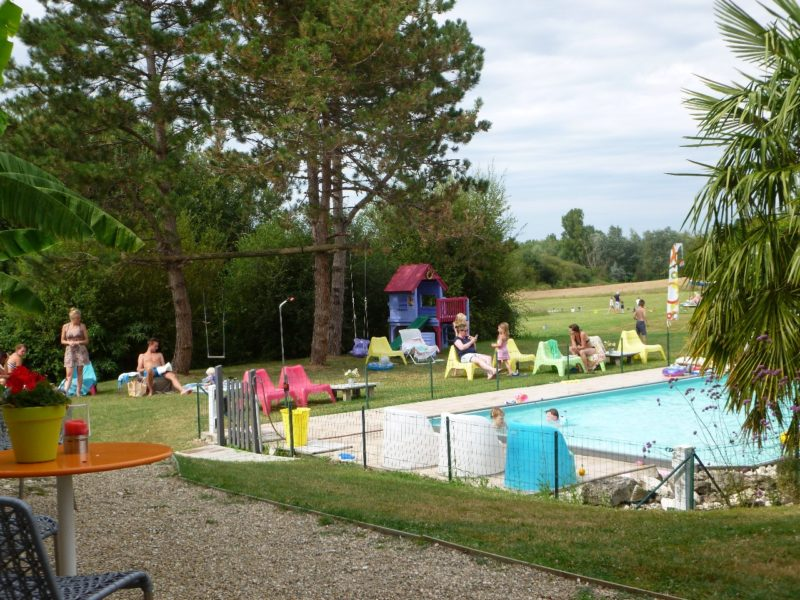 Glamping - La Vieille Ecole - zwembad