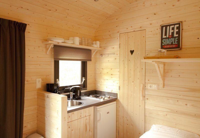 't Noorder Sandt - Woodlodge keuken