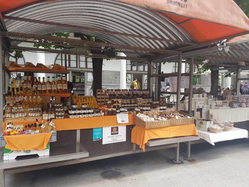 Lokale producten - Glamping in Slovenië
