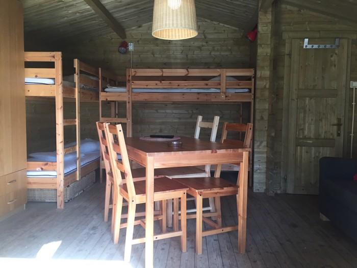 Glamping - De konijnenberg - kamperen in de blokhut