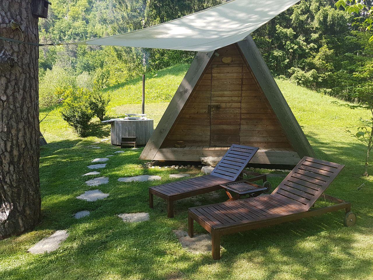 Bled glamping in Slovenië
