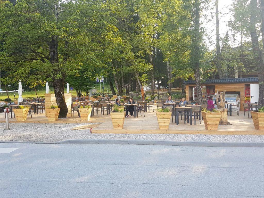 Restaurant camping Bled - Glamping in Slovenië