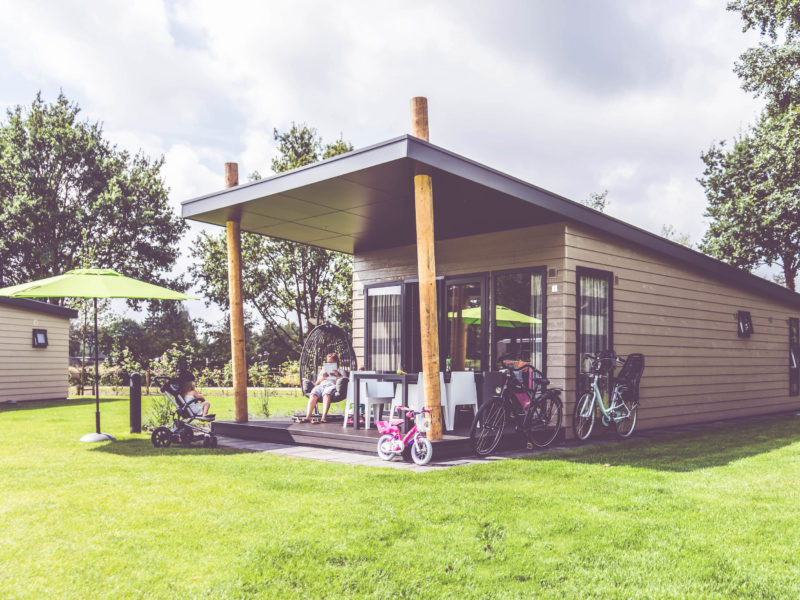 Familiecamping de Belten - Glamping - luxe chalet
