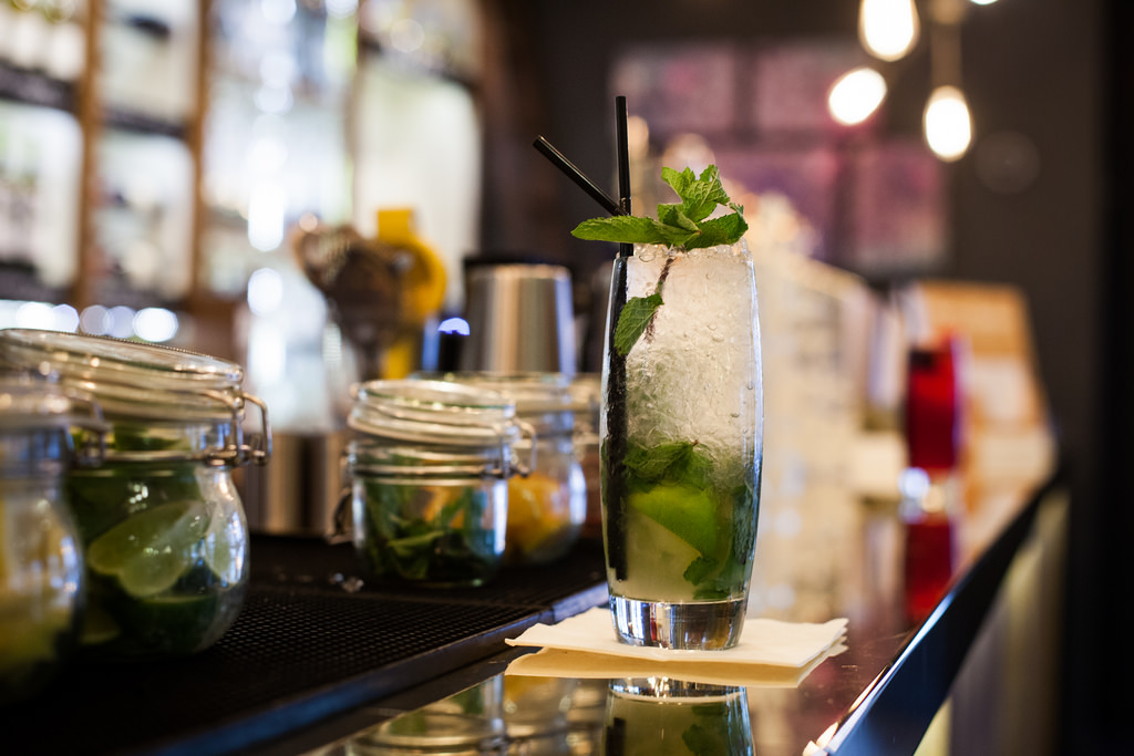 Glamping met Cocktails, mojito