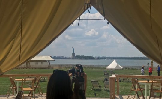 Glamping op Governors Island in New York!