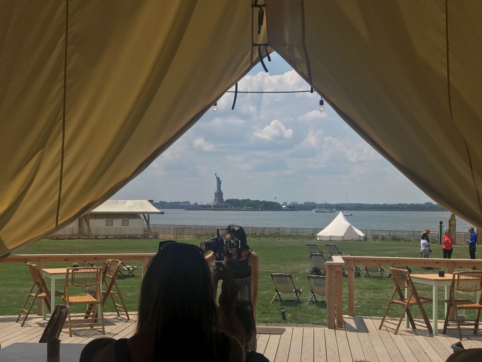 Governors Island - Glamping accommodatie