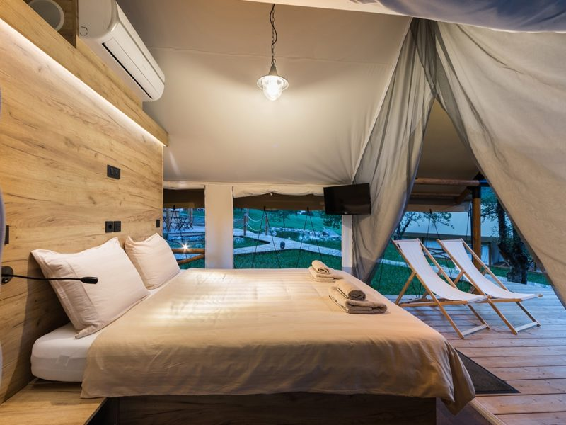Trend glamping - comfort