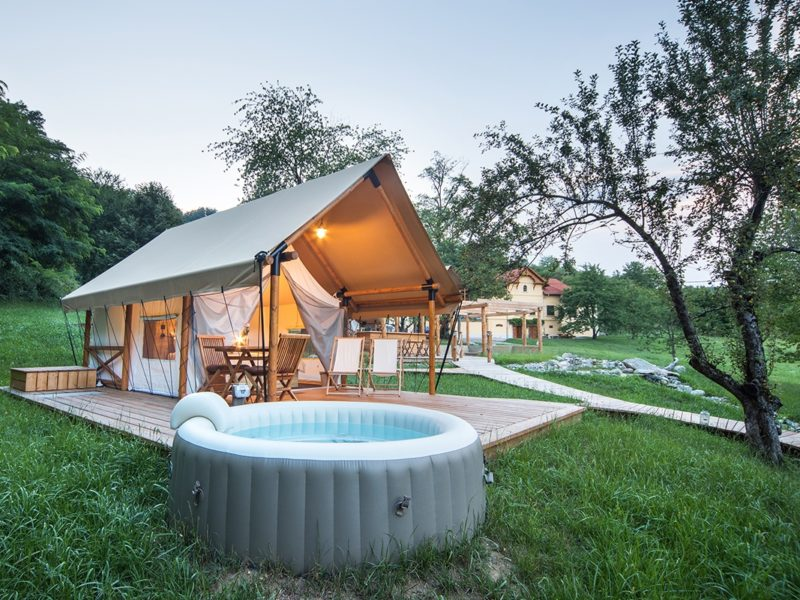 Trend glamping - luxe