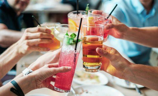 Glamping met cocktails