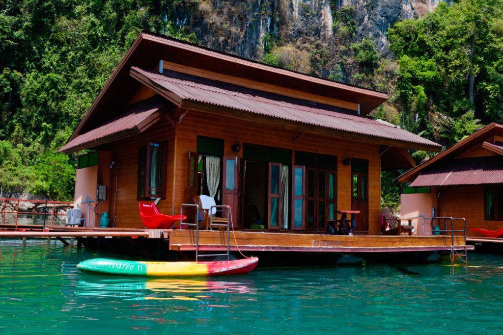 Khao Sok floating bungalows - de mooiste glamping adresjes ter wereld