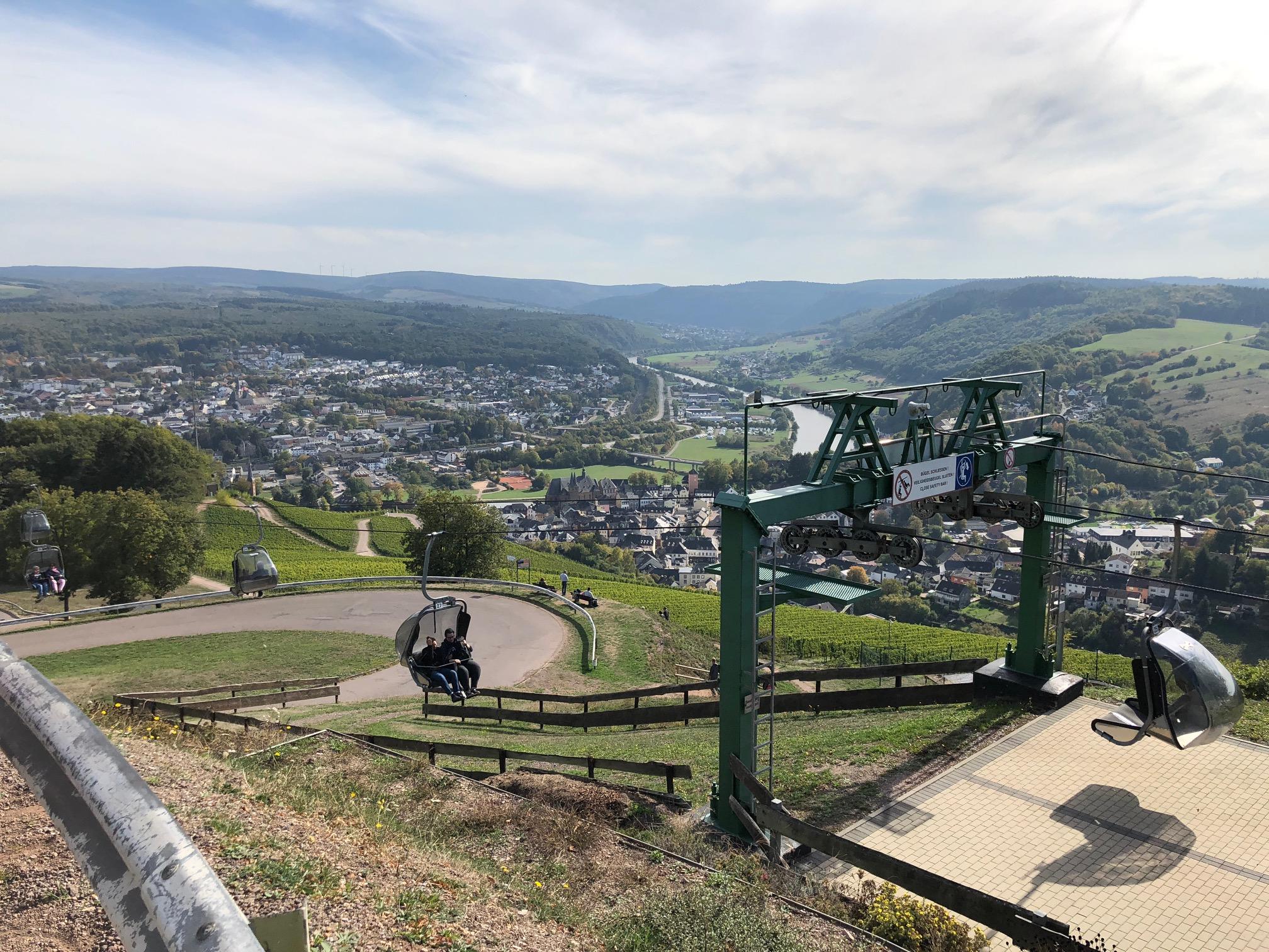 Stoeltjeslift bij Landal Warsberg
