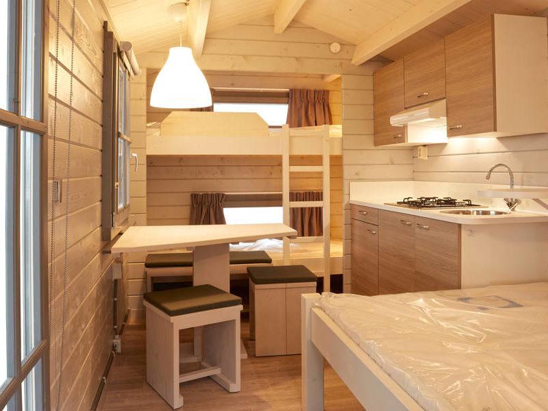 Slaapkamer kampeerchalet - RCN de Potten, Glamping.nl