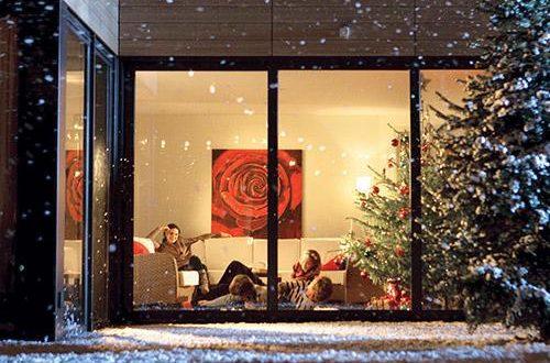 Glamping met kerst