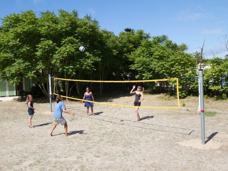 Glamping - Côte Sauvage - volleyballen