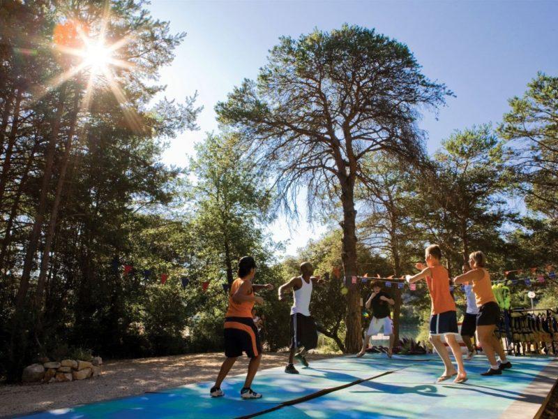 Glamping - Côteau de la Marine - Yoga in het bos