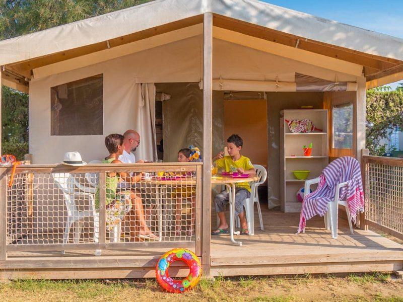 Glamping - Castell Mar - ecolodge