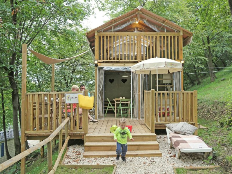 Glamping - Domeine de Chaussy - airlodge