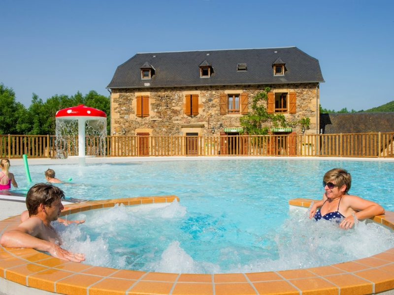 Glamping - La Boissiere - het zwembad