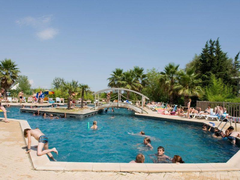 Glamping - la Marine - het zwembad