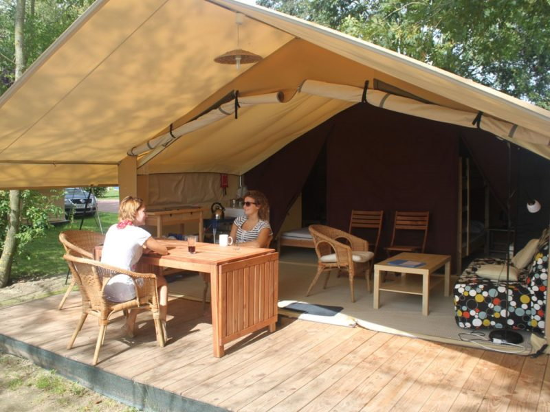 Glamping - Le vieux port - safaritent