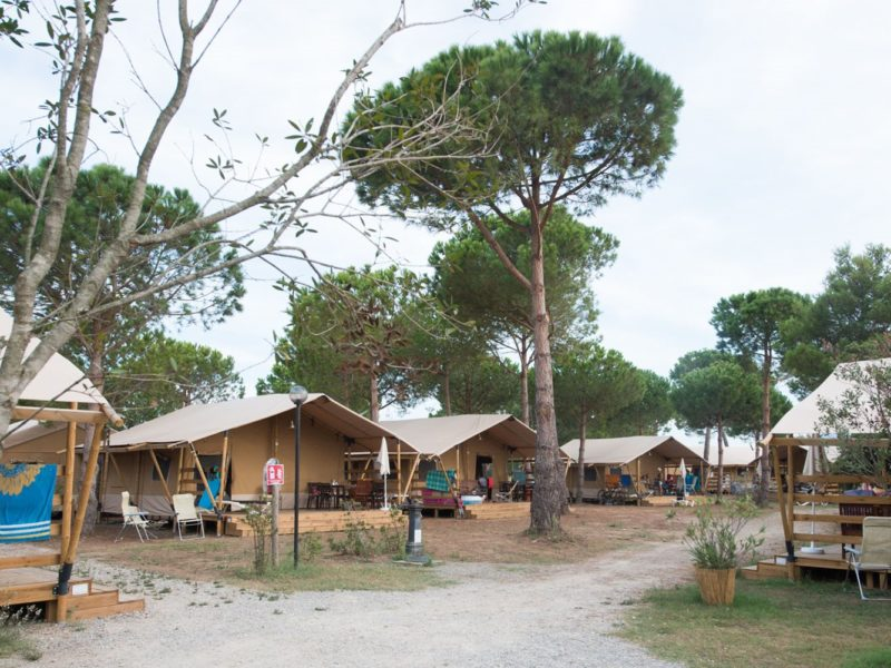 Orbetello Village - De populairste glampingbestemmingen van 2018