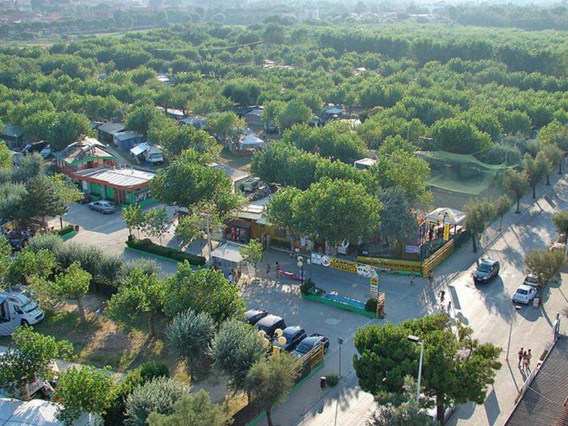 Glamping - Romagna camping village - de camping