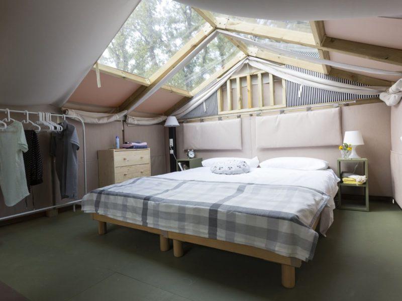 Glamping - Romagna camping village - slapen onder de sterren