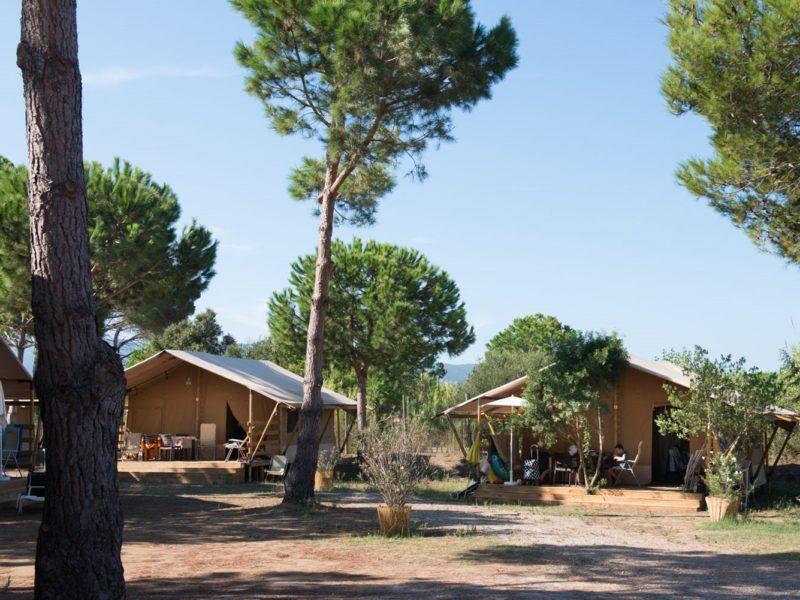 Glamping - Romagna camping village - safaritenten