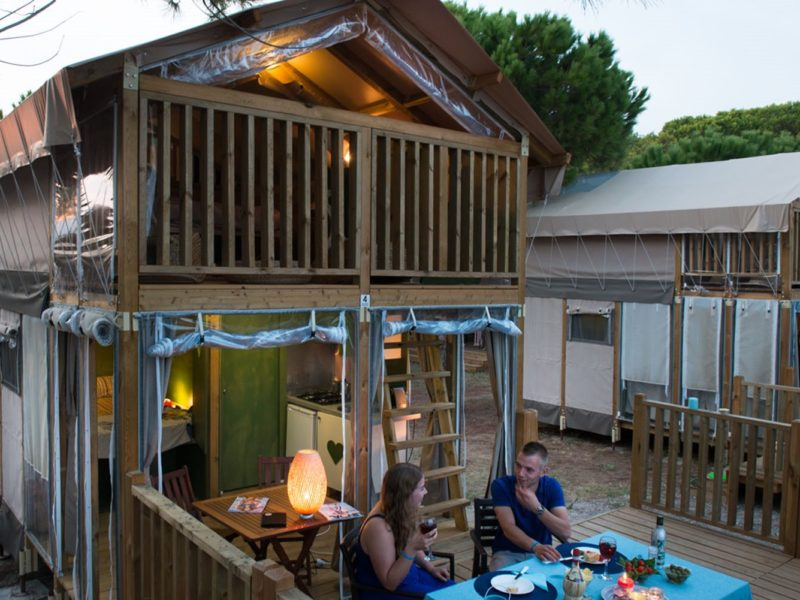 Glamping - Romagna camping village - airlodge