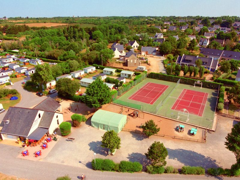 Glamping - Saint Jacques - centrale plein camping