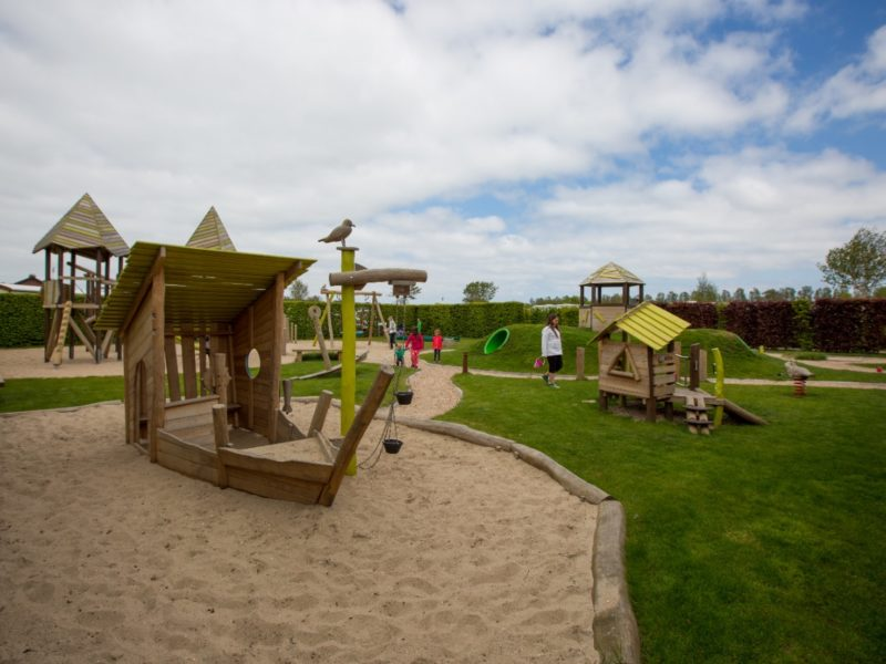 Speeltuin voor de kinderen - Glamping